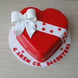 Торт на 14 февраля №541