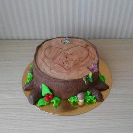 Торт на 14 февраля №542