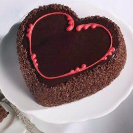 Торт на 14 февраля №543