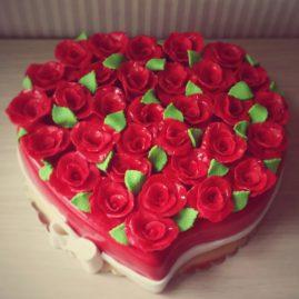 Торт на 14 февраля №544