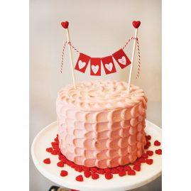 Торт на 14 февраля №548