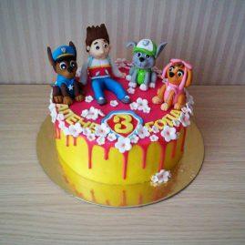 Детский торт №54