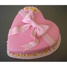 Торт на 14 февраля №550