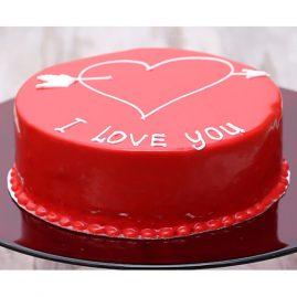 Торт на 14 февраля №551