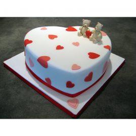 Торт на 14 февраля №552
