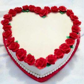 Торт на 14 февраля №557