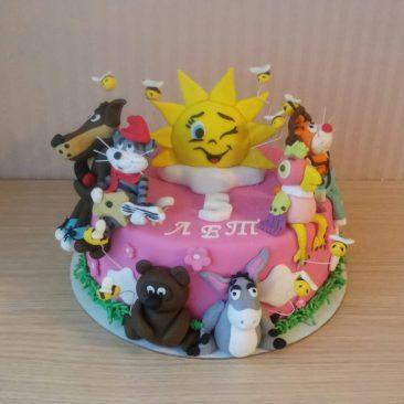 Детский торт №60