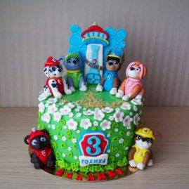Детский торт №71