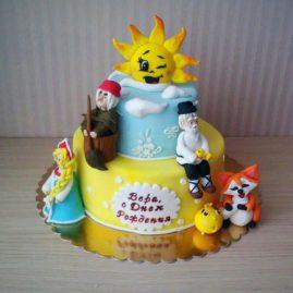 Детский торт №92