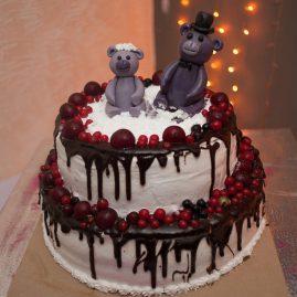Свадебный торт №230