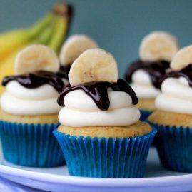 Банановые капкейки №436