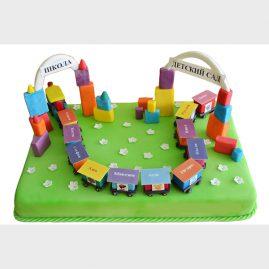 Торт на выпускной №566