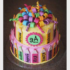 Торт на выпускной №567