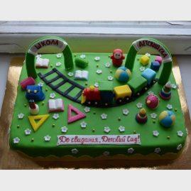 Торт на выпускной №568