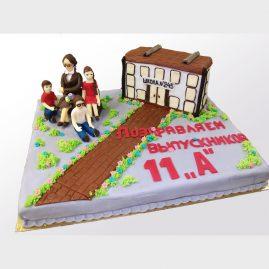 Торт на выпускной №570