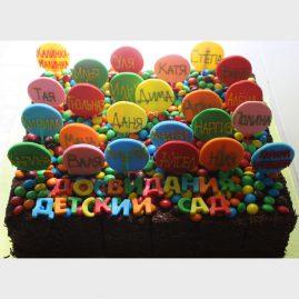 Торт на выпускной №572