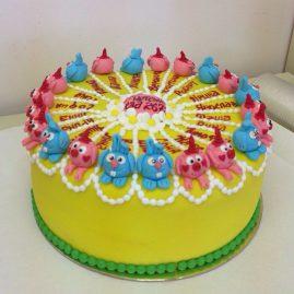 Торт на выпускной №573