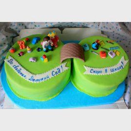 Торт на выпускной №575