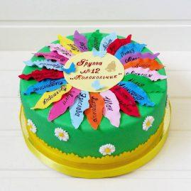 Торт на выпускной №576