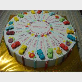 Торт на выпускной №577